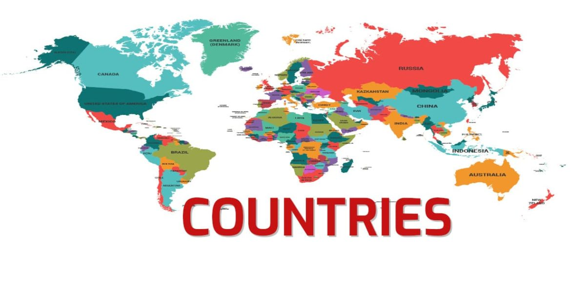 List of Countries their Capitals, Population, Area | latest | 2020