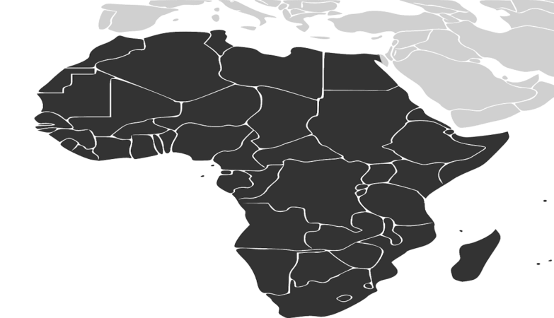 What countries are in africa